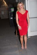 Alison Sweeney @ The Heart Truth's Red Dress Collection fashion show in NYC, February 9, 2011