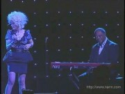 Cyndi Lauper---the hot blonde singer Babe�sexy legs�live--2010