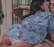 Shannon Elizabeth's ass in white panties ... 1 pic from 1999's AMERICAN PIE