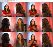 Kat Dennings - 2x Interviews from TIFF 2010 - *boobage in a red dress*