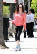 Rose McGowan @ Lunch At Jerry's Famous Deli in Studio City May 26th HQ x 4