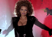 Vanessa Williams' sweet boobs and tasty cleavage ... 53 non-HD caps from 2000's A DIVA'S CHRISTMAS CAROL