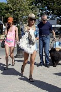 Ashley Tisdale Leggy In A See Thru Top Shopping at Planet Blue in Malibu August 6th HQ x 25
