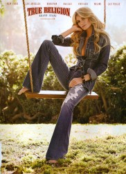 Marisa Miller True Religion Brand Jeans x 5