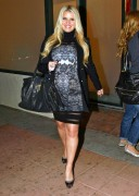 Джессика Симпсон, фото 8887. Jessica Simpson leaving an office and heading to dinner at Mastro's Steakhouse in Beverly Hills, January 18, foto 8887
