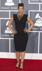 Алиша Киз (Алисия Кис), фото 3045. Alicia Keys 54th annual Grammy Awards - 12/02/2012 - Red Carpet, foto 3045