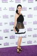 Люси Алексис Лью, фото 1120. Lucy Alexis Liu 2012 Film Independent Spirit Awards in Santa Monica 25.2.2012, foto 1120