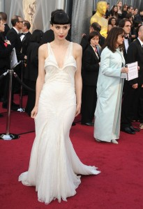 Руни Мара, фото 492. Rooney Mara 84th Annual Academy Awards in LA, 26.02.2012, foto 492