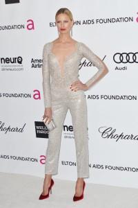 Каролина Куркова, фото 1289. Karolina Kurkova Elton John AIDS Foundation Academy Awards Party in LA, 26.02.2012, foto 1289