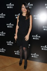 Salma Hayek @ Hogan By Karl Lagerfeld Ready-TO-Wear Fall/Winter 2012 March 1, 2012 HQ x 2