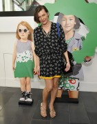 Милла Йовович, фото 2020. Attends The World Premiere of the GapKids Milla Jovovich DVF Collection - March 3, 2012, foto 2020