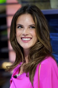 Алессандра Амброзио, фото 8190. Alessandra Ambrosio On 'El Hormiguero' TV Show in Madrid, 05.03.2012, foto 8190