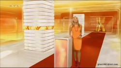 Frauke Ludowig---09.03.2012--RTL--legs--dress--(Germany)