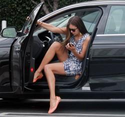 Nina Dobrev - Fred Segal, West Hollywood - April 25, 2012