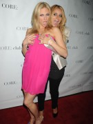 Aubrey O'Day & Debbie Gibson - having fun at Celebrity Apprentice panel discussion 05/22/12