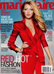 Blake Lively x7 Marie Claire July, 2012