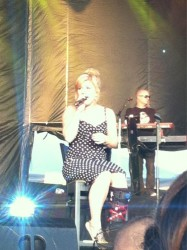 *ADDS* Kelly Clarkson performing at Freedom Fest at Fort Hood, TX-7/4/12