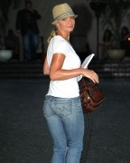 Jaime Pressly - booty in jeans at the Chateau Marmont in West Hollywood 07/10/12
