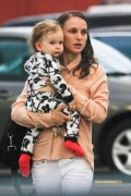Natalie Portman and her son Aleph out in Los Angeles (July 18, 2012)