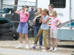 "Molly Quinn- Filming ""We're the Millers"" in Wilmington, NC -7-25-12"