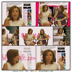 Jeanine Pirro---July 2012  Interviev--divine legs--USA