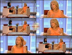 Katie Couric---Aug.2012--legs--Interview---USA